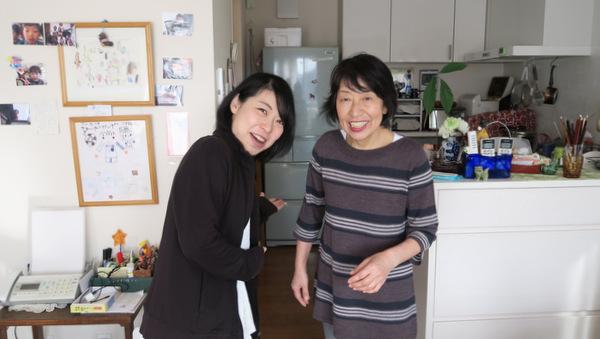 古賀さんと古賀さんのお母さん