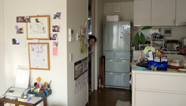 「今から入ります」と脱衣所からちょっと顔を出してくれたお母さん