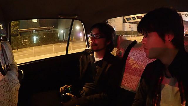 タクシーに乗りました!