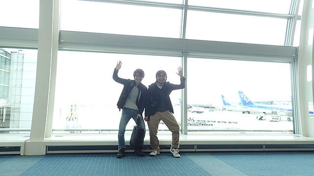 羽田に戻ってきました!