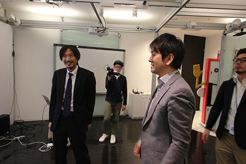 イノラボの偉い人、森田さん。もちろん詳細は伝えられていません。