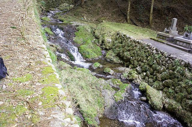 川の流れも荒々しさを増す