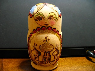 I don't know why this matryoshka was in my house.