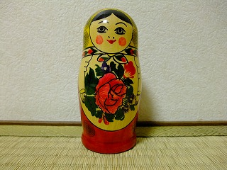 A Russian girl from Ms. Koga's house