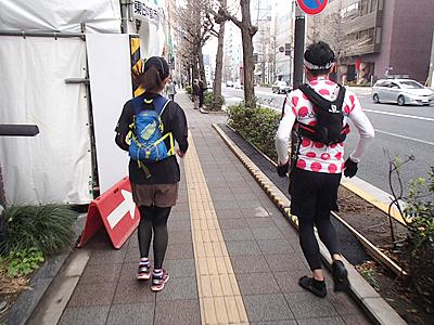 勝手に東京メドックマラソンはユルユルとスローペースで走ります。