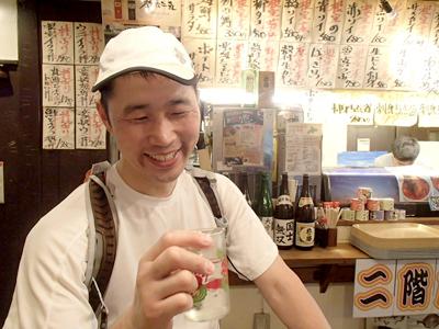 いやー、走って日本酒、楽しいねー。もう少しで最後。