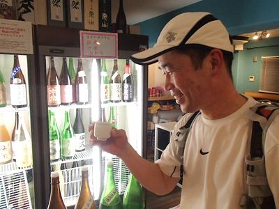 いやー、楽しい走りだった。ゴール日本酒はうまいねー。