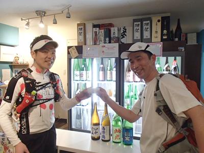 勝手に東京メドックマラソン協力ありがとうございます!日本酒最高―!