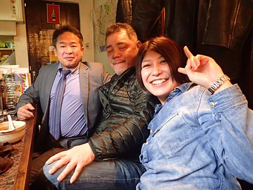 お客さんももちろん大阪の人。