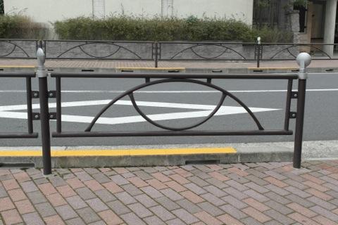 これは横断防止柵