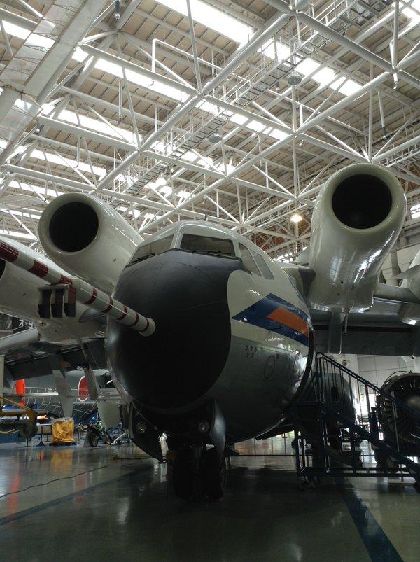 低騒音STOL実験機 飛鳥 かかみがはら航空宇宙科学博物館にて(青砥大川堂)