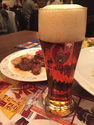 ぷは~、ビールうめぇえ!