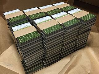 再生産分も到着。初版より箱の印刷が良くなってます。