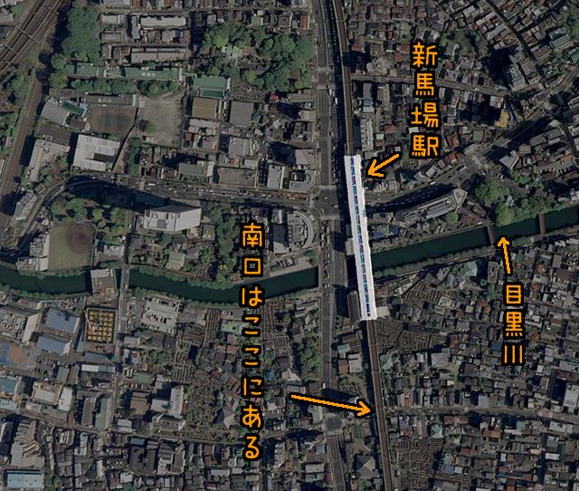 ただでさえむやみに長いのに、入口がさらに遠い。(国土地理院「地図・空中写真閲覧サービス」より・整理番号・CKT20092/コース番号・C58/写真番号・30/撮影年月日・2009/04/27(平21))