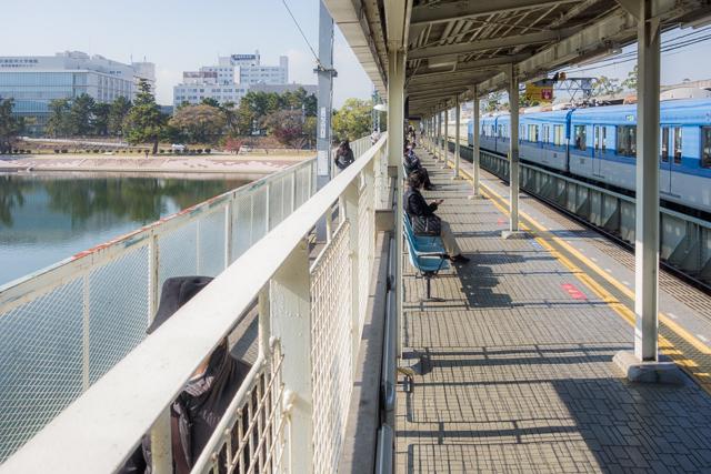 芦屋駅と同じく、すばらしい開放感。これこれ! こういうの!