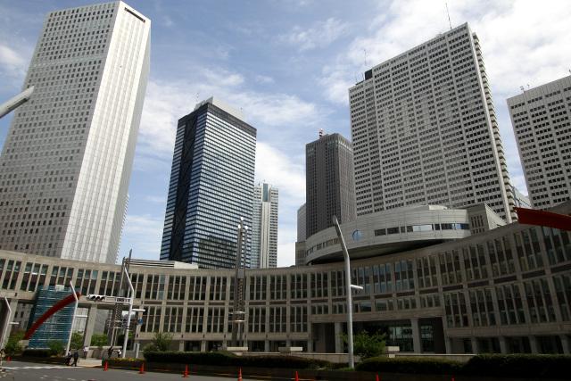 今や東京の代名詞となった新宿新都心の風景