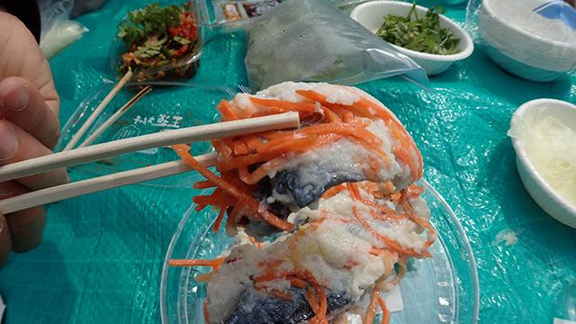 富山の鯖の麹漬けも「特に嫌なくささではない。美味い」と好評だった。