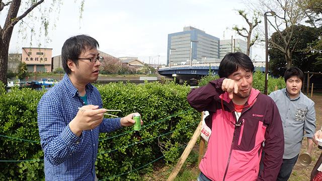 ライター松本さんは泣いた。泣いた後「噛むほどに公衆トイレが現れる」という名言も出た。