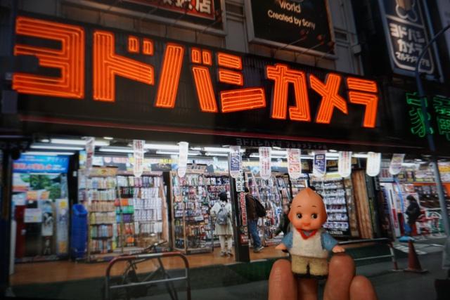 完成!ヨドバシカメラ新宿西口本店キューピーです。