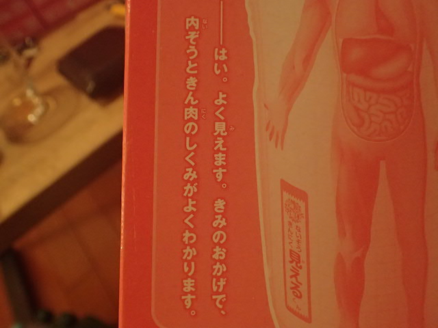 「内ぞう」と「きん肉」という表記がこわい。