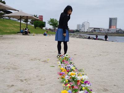 古賀さんも花を咲かせていた。