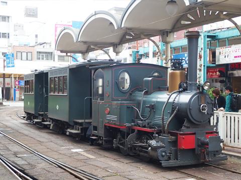 当時の列車をほぼ忠実に復元。
