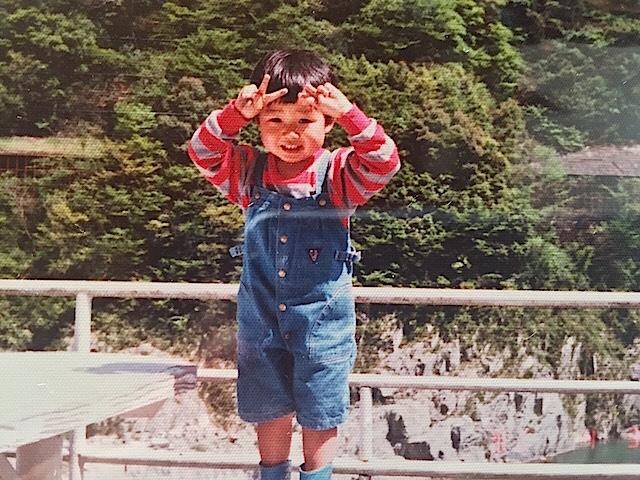 3歳の頃の金子さん