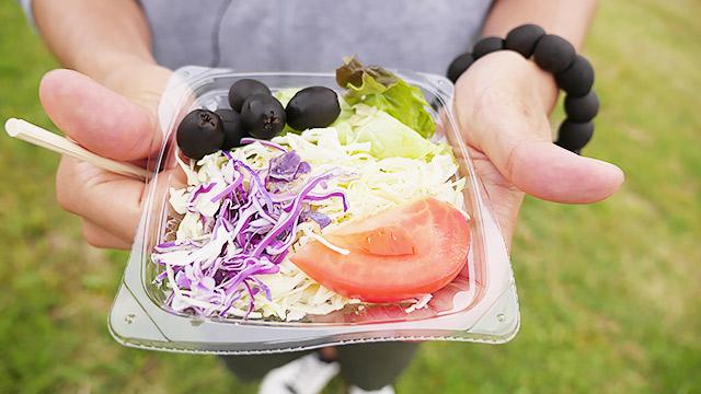 サラダに添えてよし!