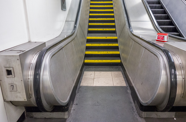 あと、エスカレーターのフリして実は階段っていうのがあって面白かった。