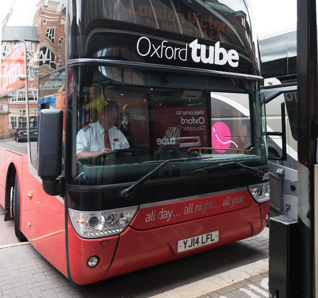 乗っていったバス。バスなのに TUBE。