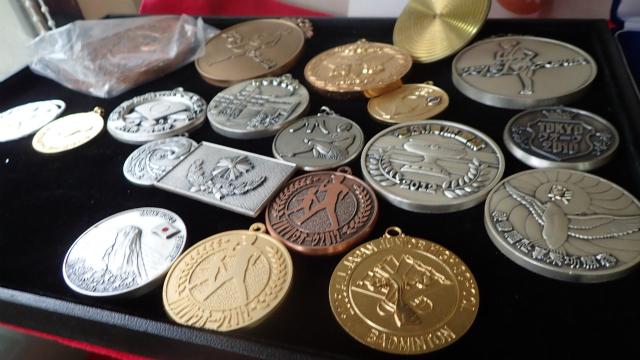 メダルの完成品がこちら