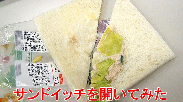 2008年に買って衝撃を受けたサンドイッチ。