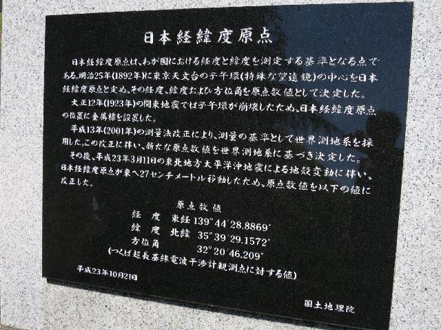 ここも東日本大震災でズレてこの石碑作り直したんだな