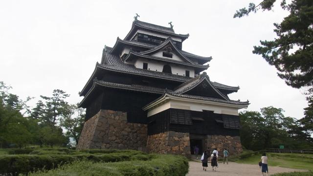 松江のシンボル松江城