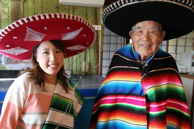 リトルワールドで撮ったかのような写真だが、まぎれもなく島田市のお寿司屋さんである。