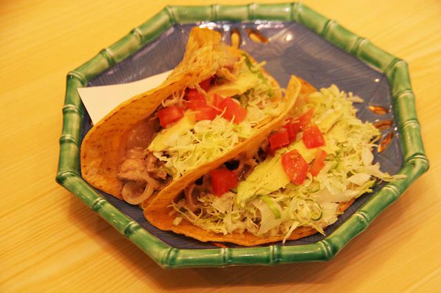 タコス。The メキシコ料理。