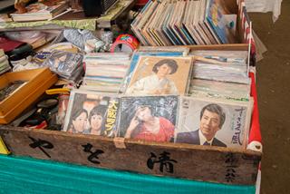 レコードもある。