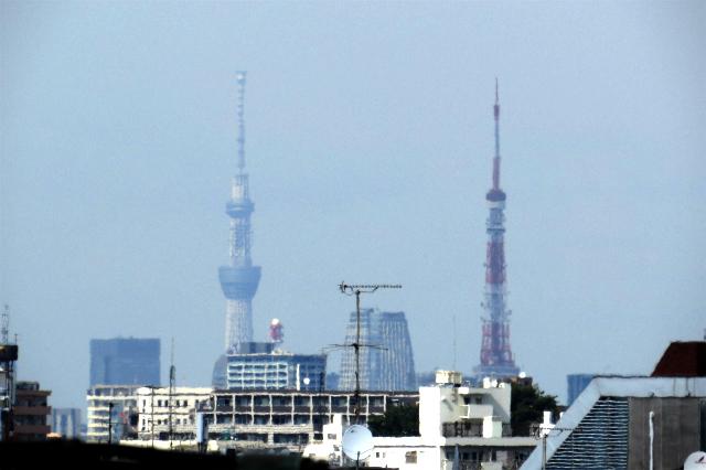 新旧二大東京電波塔