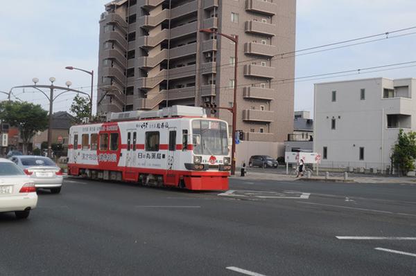 豊橋市は東海地方で唯一路面電車が走っているらしい。