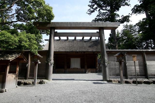せっかく伊勢に来たんだから、神宮にお参りすれば良かったのに