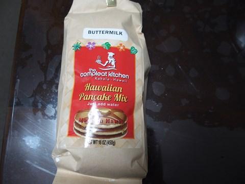 ハワイ土産ということ以外よくわかっていないパンケーキミックス。