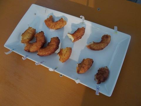 9種類のドーナツ。食べかけですみません。