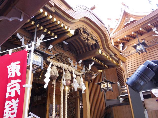 こぢんまりとしたキレイな神社だった