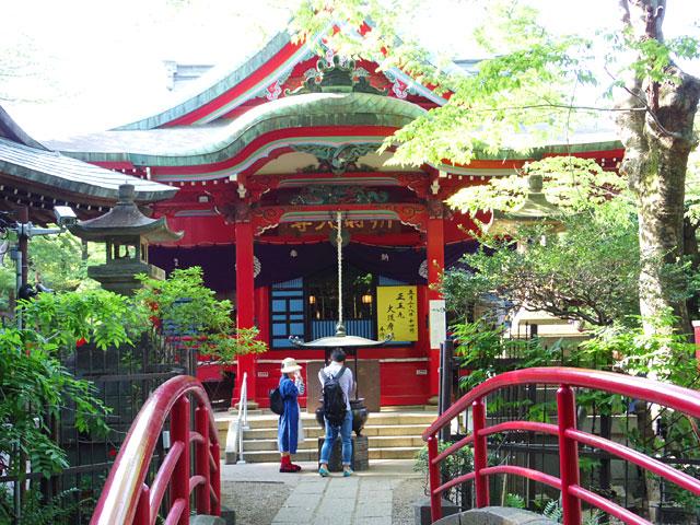 井の頭恩賜公園内に神社があったこと、初めて知った