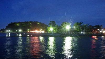 夜の八景島へ