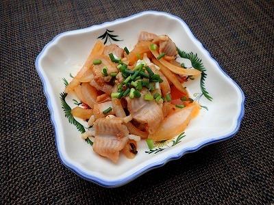 韓国流・ヌタウナギのコチュジャン炒め