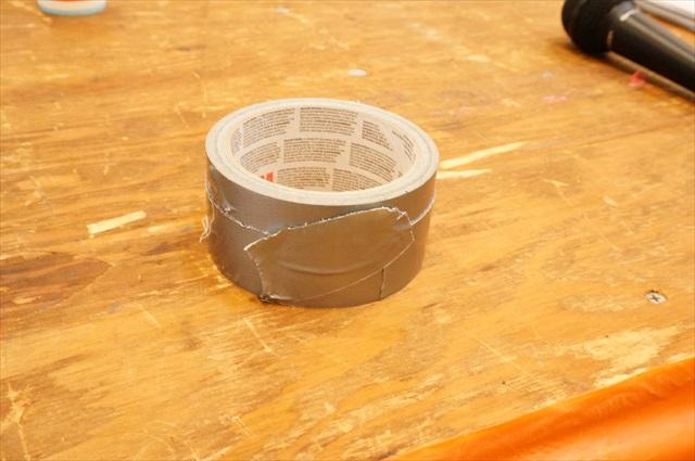 子供が使った後のテープの切り口がすごい