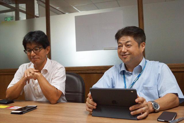 木屋さん(左)と菊川さん(右)。