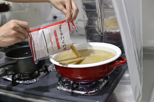 すげぇ量(スープの総量3.6リットル)