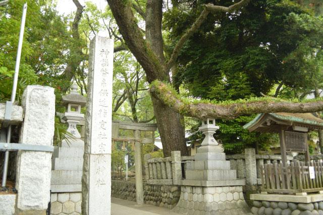 「女体の森 宗像神社」があった!!